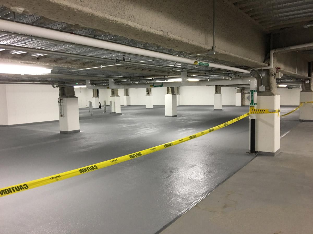 Parking garage repair p j spillane company inc for Garage reparation sarcelles